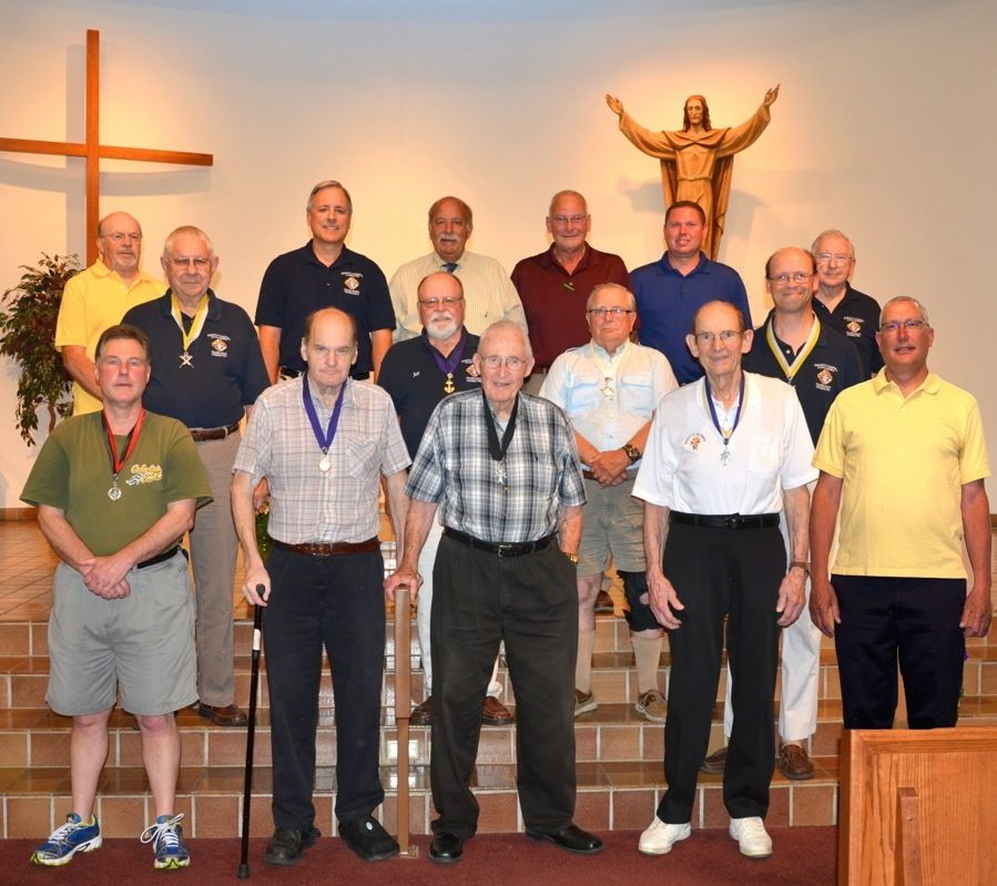 Knights of Columbus group photo