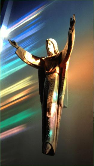 Statue of Risen Jesus