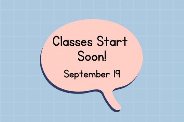 Religious Ed Classes Start September 19